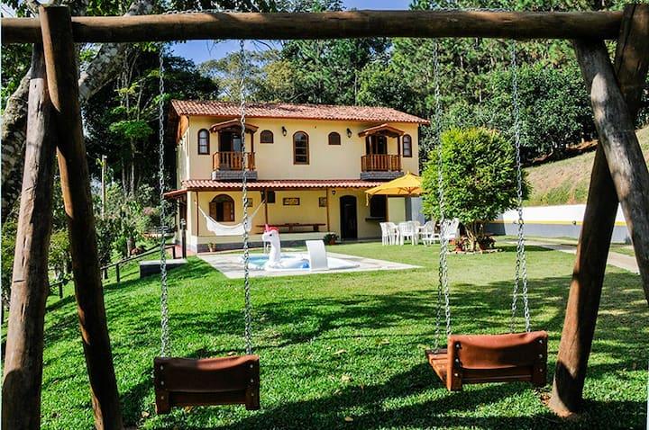 Casa do Lago, no Sítio Ibiapaba. Recanto único!