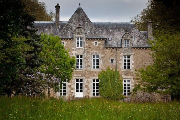 chambre au château sur 14ha de charme,tranquilité