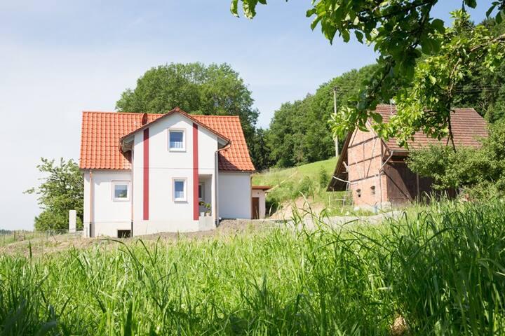 Mayer Burghöfe - Urlaub auf dem Bauernhof (Owingen), Ferienhaus 2
