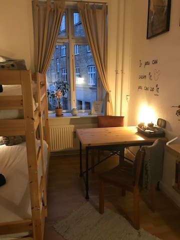 Cozy room only 1,5 km from CPH Central Station