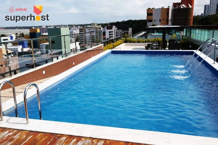 Room in the best location of Cabo Branco