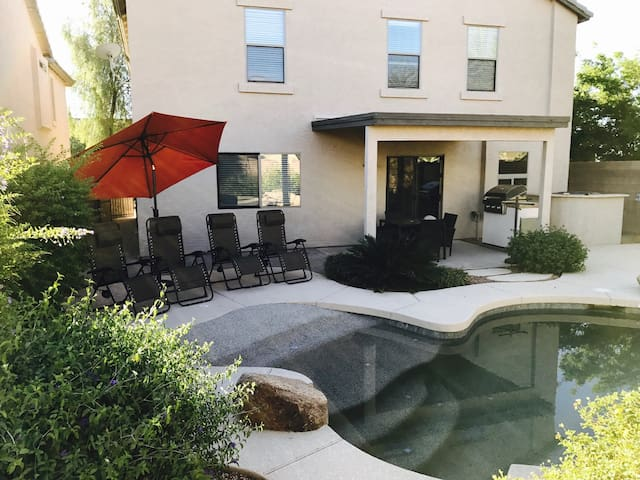 Relax in a Spacious Home with Heated Pool