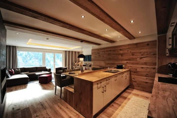 Exclusive 2 Bedroom Ski Holiday Apartment in Kappl - Available to Book with Inter-connecting Apartment for 12 Guests
