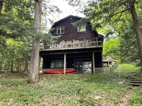 Unique Waterfront House on Cranberry Lake!!