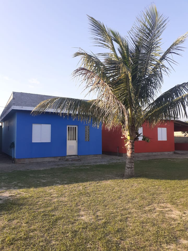 Cabana Bagé Blue house