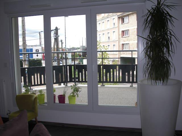 Appart 4 pers. 15 mn Paris - Sartrouville - Apartamento