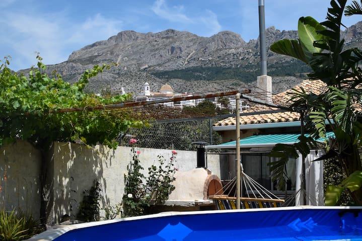 Rustic house for 4 -  Altea la Vella
