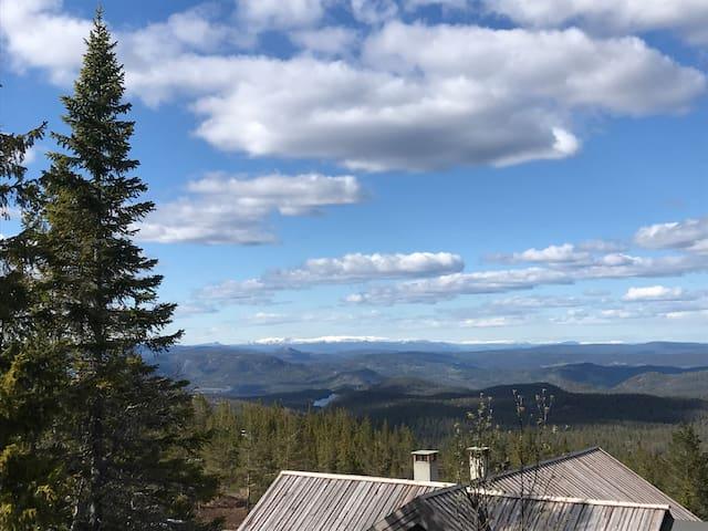 Hytte på Blefjell med fantastisk utsikt