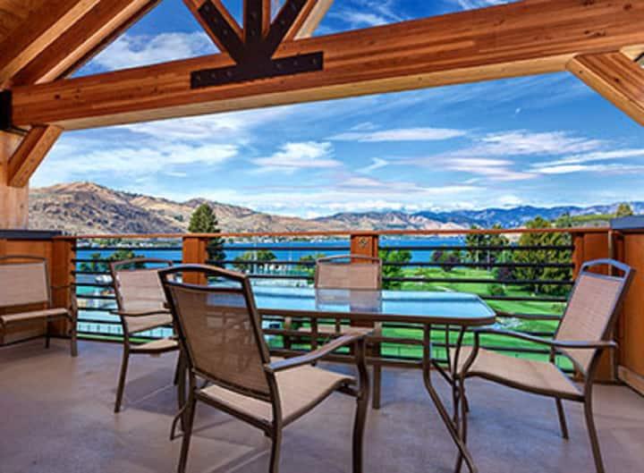 Chelan Lake House WA, 3-Bedroom Lake View Z #1