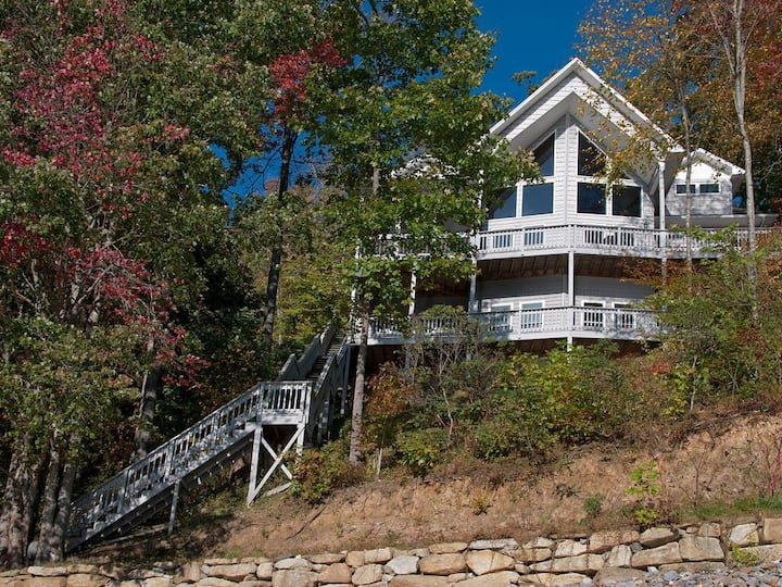 Lake Nantahala Direct lakefront Amazing views