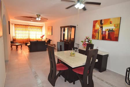 Great Apartment with 2 bedrooms and 2 bathrooms - Playa del Carmen - Apartment