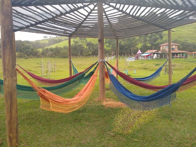 Camping Filhos da Terra - Zona Rural (Cachoeiras)