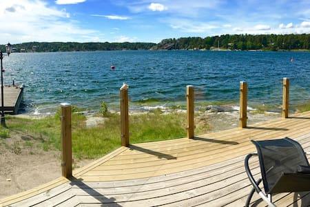 Sjöstuga vid havet i Stockholms skärgård
