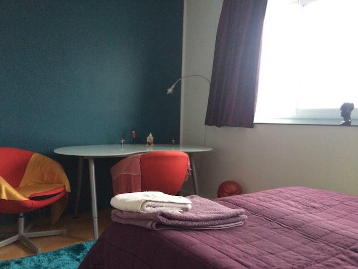 Chambre cosy à 15 mn de Paris