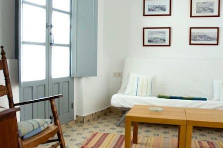 Habitación doble con salón en La Botica de Vejer - Vejer de la Frontera