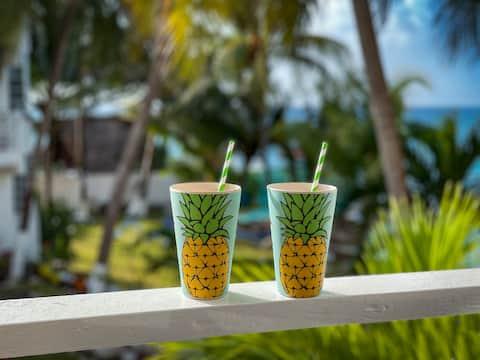 Pink Pineapple Villa, Chrisann's Beach Resort