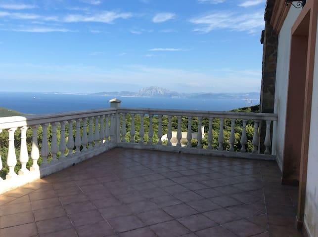 Casa amplia, tranquila y preciosas vistas a Africa - Tarifa - Appartement