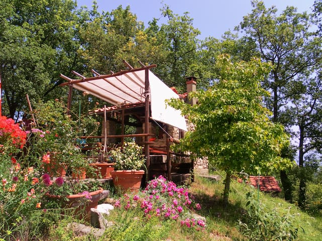 PER DUE SULLE COLLINE A FIRENZE- A WONDERFUL VIEW - Montecucco - House