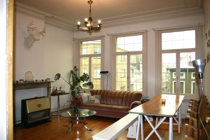 Spacious apt in the centre - Antwerp - Apartemen