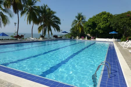 Apto in Condominium on the beach - Santa Marta
