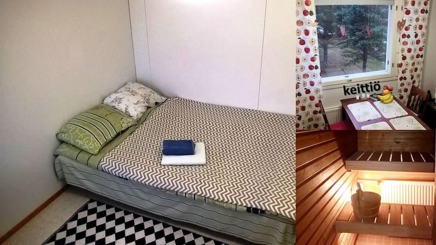 Huone 1:lle aikuiselle lasten kanss - Oulu - Lägenhet