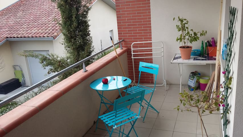 Appartement Saint-Alban, parking - Saint-Alban - Appartement