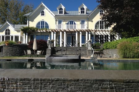 31 acre  Hudson River estate with infinity pool - Coxsackie - Villa - 2