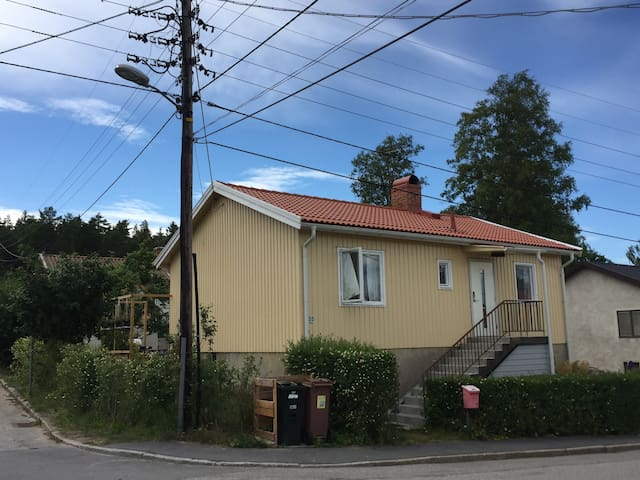 House with pleasant garden close to Stockholm city