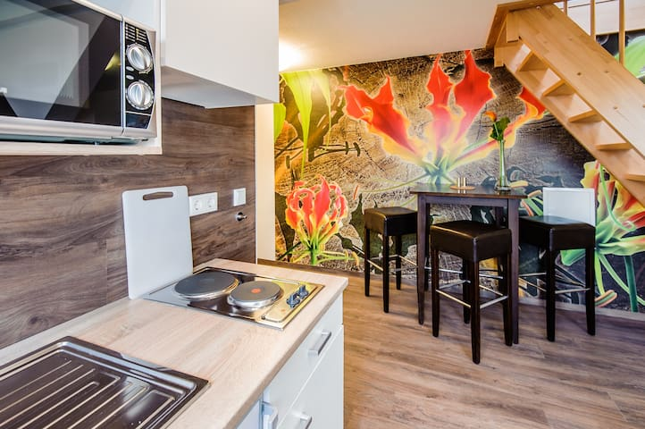 Wohnung in Weltkulturerbestadt nahe der Ostsee..W5 - Wismar - Lägenhet