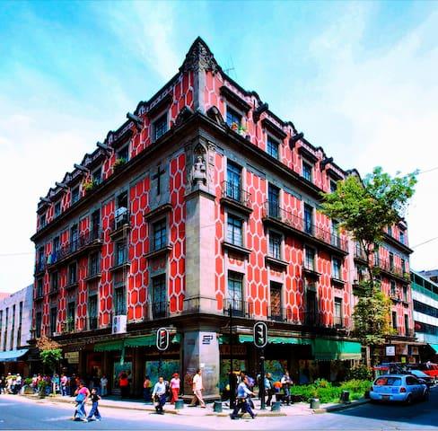 Habitación Departamento Centro Histórico (FRIDA) - Ejido del Centro - Apartemen