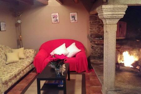 Casa del piedra a 15 minutos del mar - A Coruña - Huis