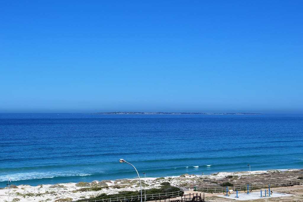 View of Robben Island From the Balconey