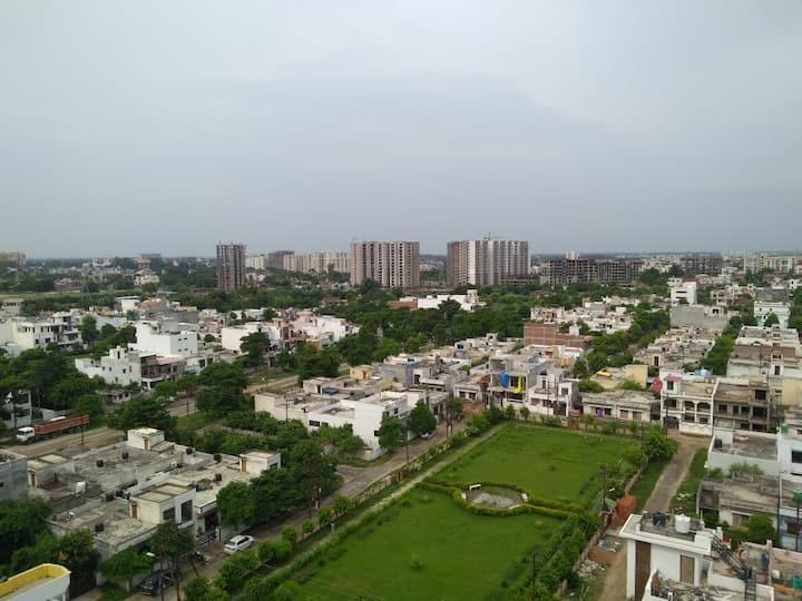 Sky view Lovedale 2bhk condominium on high Floor
