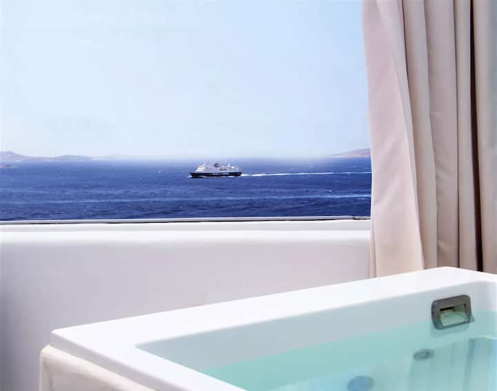 Charming Suite | Sea View & Private Pool & Jacuzzi