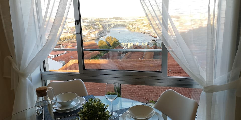 Douro House - Luis Bridge Porto V.N. Gaia view