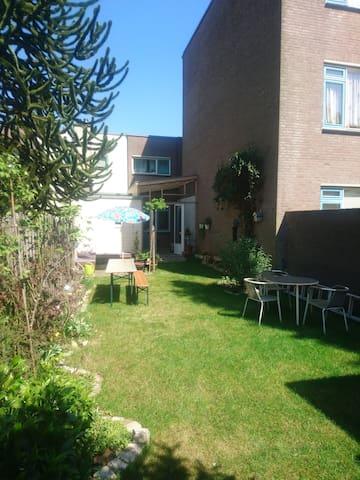 15 meter diepe tuin