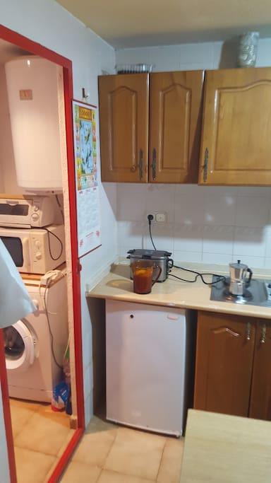 Cocina tendedero