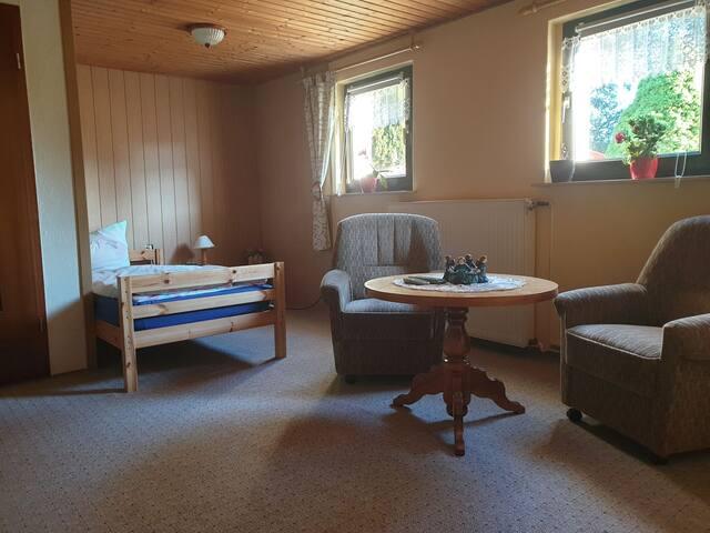 Unterkunft in mitten der Mecklenburger Seenplatte