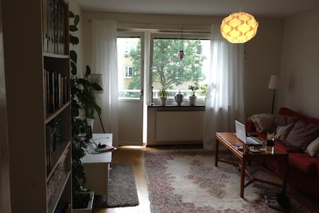 Cosy apartment in quite area, 20 min. from city - ストックホルム