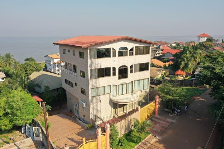 Résidence Kasaï -Conakry - Suite Privée (Ch+Salon)