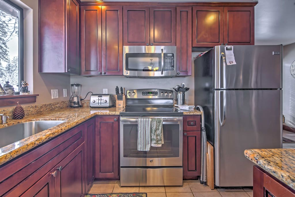 The home is updated with new appliances!