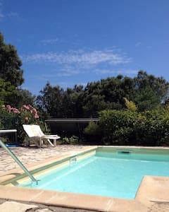 Les Chênes Verts, studio indépendant avec piscine - Saint-Mathieu-de-Tréviers