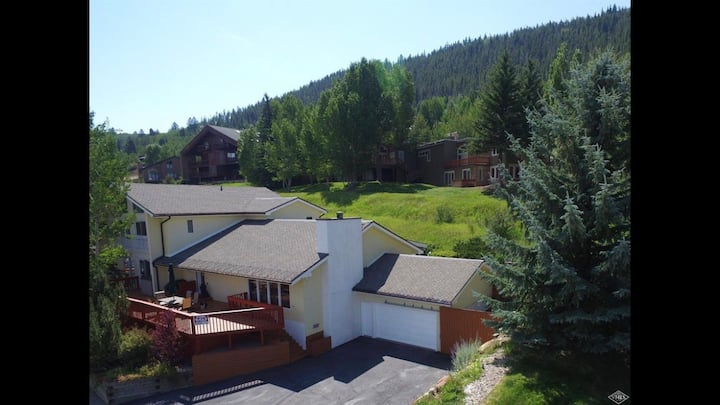 Vail mountain house.  2-3 family home.  Views!