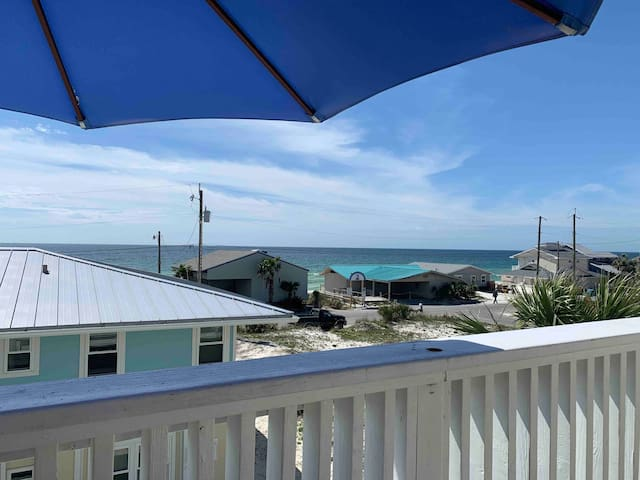 Cool Beach View Condo ~ Pet Friendly
