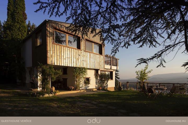 The ODU House, how it looks when You arrive  /  Így vár Téged is az ODU Hosue