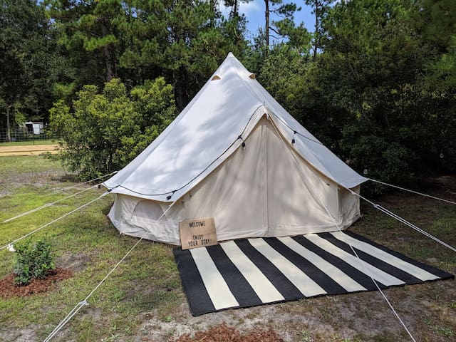 Serenity Under the Stars - A Glamping Experience