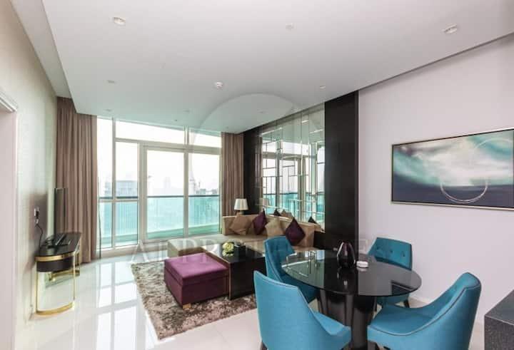 luxury design apartment  Downtown Dubai