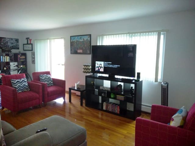 Large private 2bed apart. north of CHICAGO - Des Plaines - Apartamento