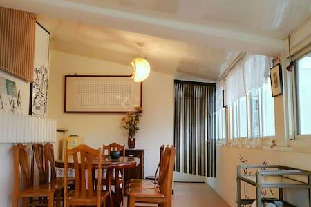好陽光 彩虹雙人房 好讚360度大平台好觀星及海上日出 含早餐 可免費接送到九份老街金瓜石景點導覽 - 瑞芳區 - 独立屋