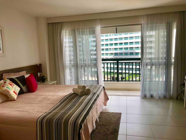 EXCELENTE E ESPAÇOSO FLAT EM HOTEL EM BRASÍLIA F6